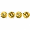 Sequins Round 8mm Aprx 850pcs Hologram Gold